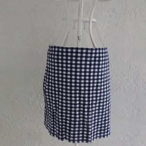 H& M Check Patterned Skirt